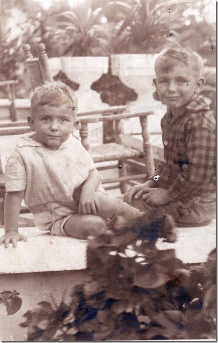 1928 Jack and Dad Coronado Apts