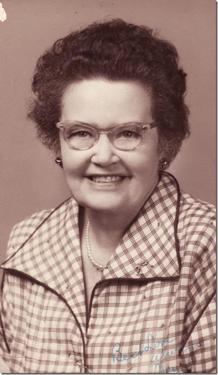 1957-04 Dad's Mom Helen Delaney Harris