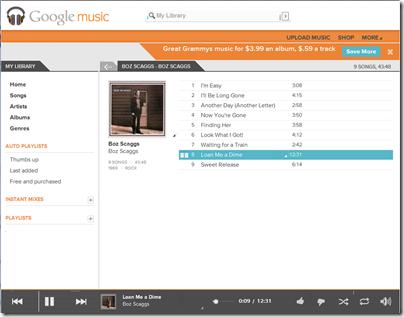 google-music-player