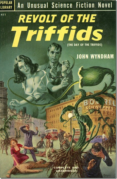 Resultado de imagen de Novel The day of the triffids