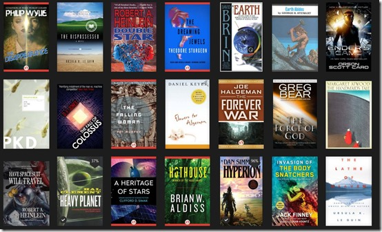 SF Books On Kindle
