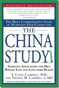 The China Study - T Colin Campbell PHD