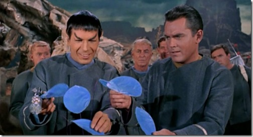 spock smiles the-cage