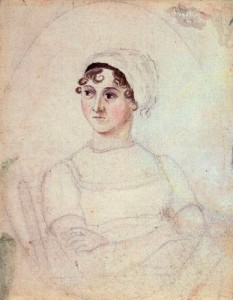 NPG 3630; Jane Austen by Cassandra Austen