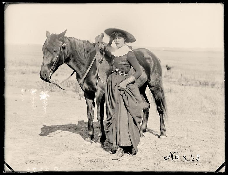 1888 woman of the west