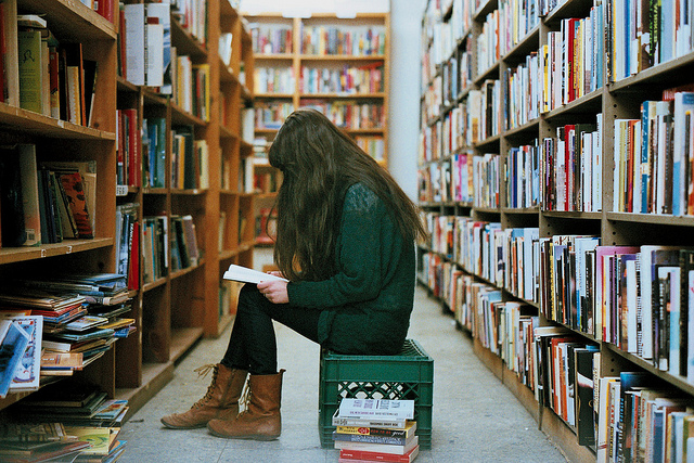 Bookstore reading