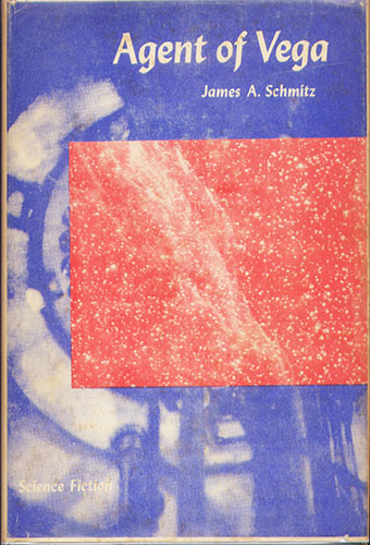 Agent of Vega by James H. Schmitz 1960 Gnome Press