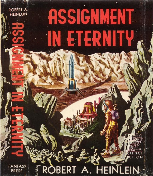 Assignment in Eternity by Robert A. Heinlein 1953 Fantasy Press