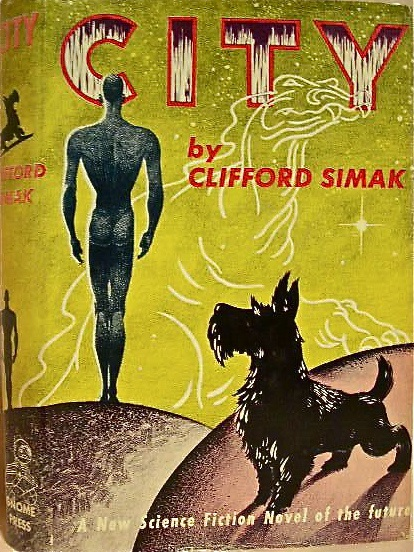 City by Clifford Simak 1952 Gnome Press