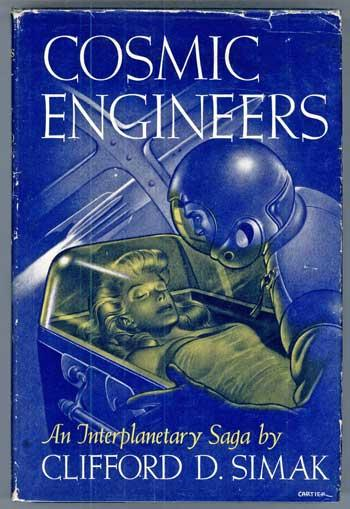 Cosmic Engineers by Clifford D. Simak 1950 Gnome