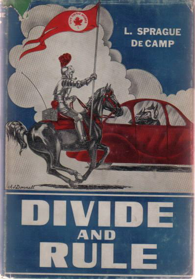 Divide and Rule by L. Sprague de Camp 1948 Fantasy Press
