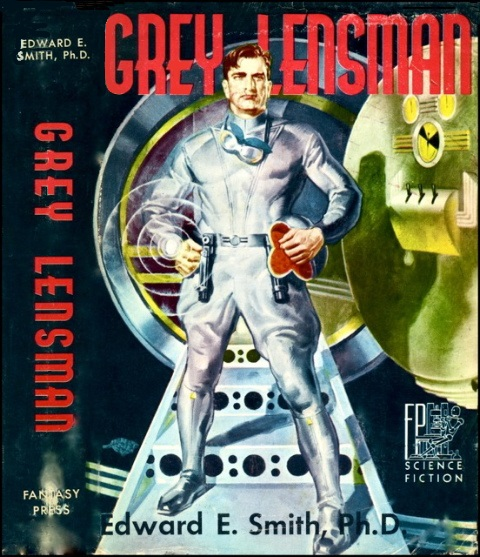 Gray Lensman by Edward E. Smith 1951 Fantasy Press