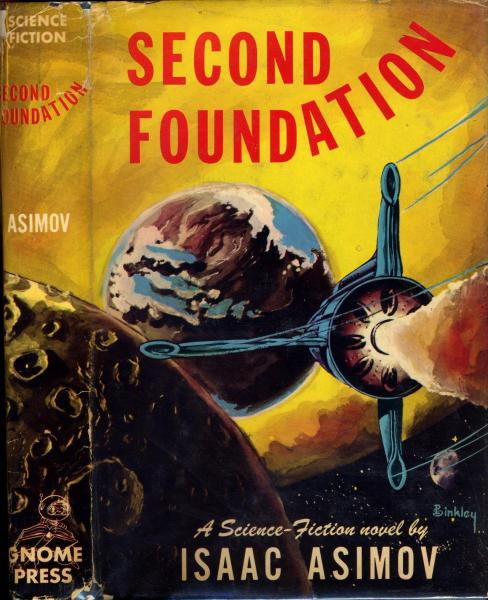 Second Foundation by Isaac Asimov 1953 Gnome Press