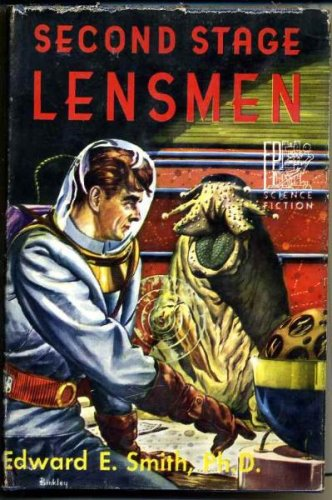 Second Stage Lensmen by Edward E. Smith 1953 Fantasy Press
