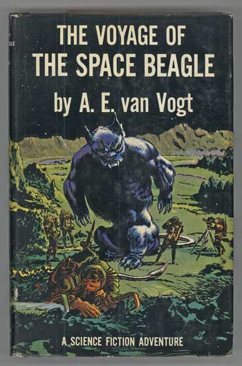 The Voyage of the Space Beagle by Jack Williamson 1950 Simon & Schuster
