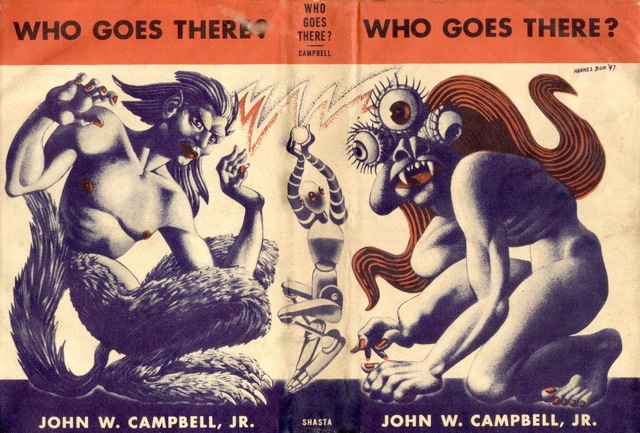 Who Goes There by John W. Campbell 1948 Shasta. Campbell 1948 Shasta