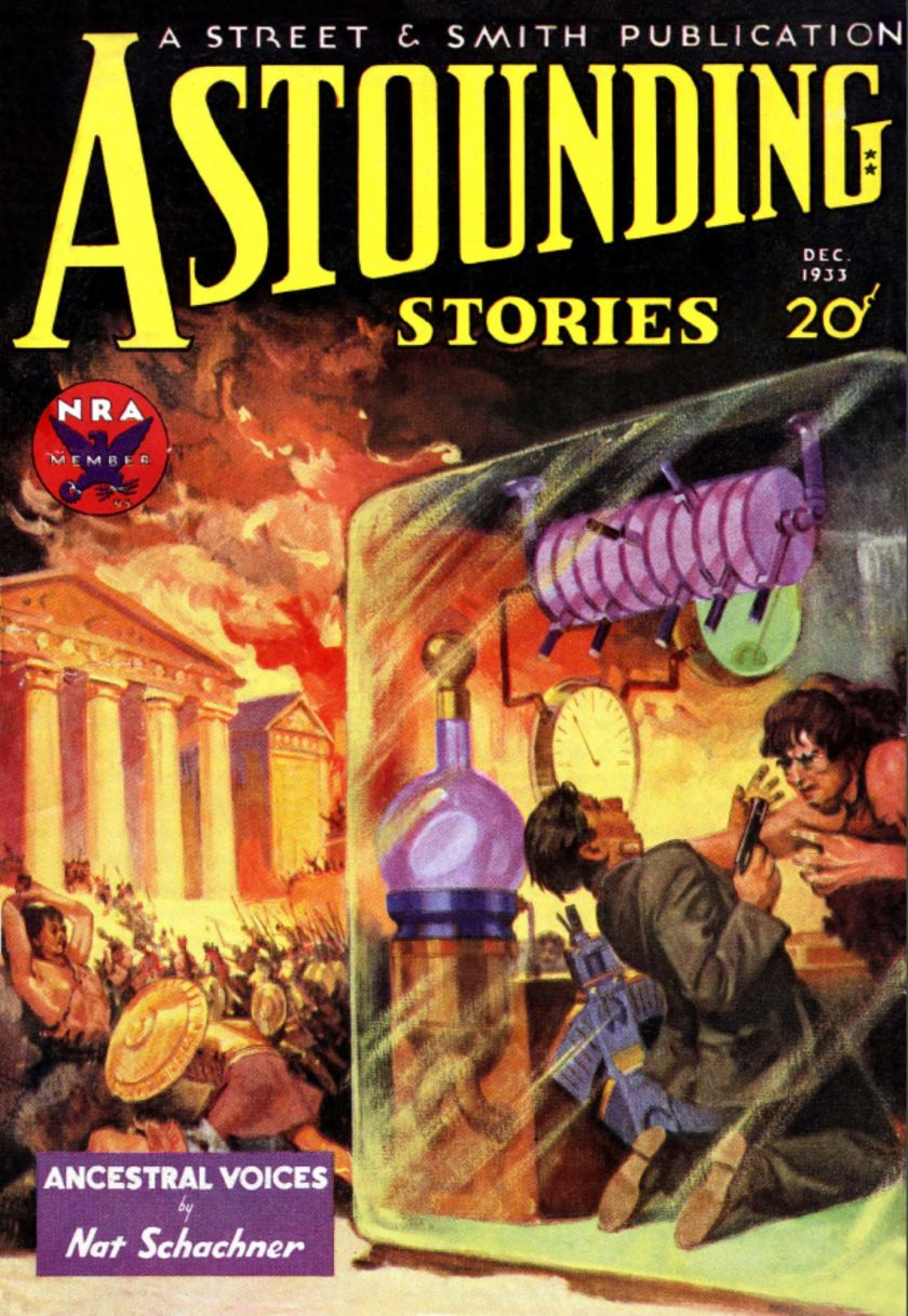 Astounding Stories December 1933