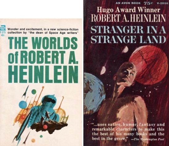 First-Heinlein-books-I-bought