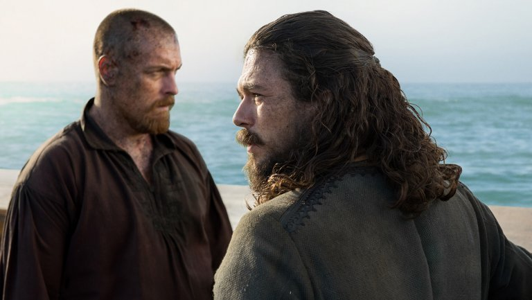 Captain Flint and Long John Silver