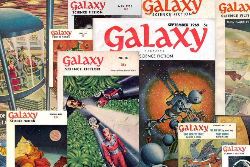 Galaxy magazines from The Verge