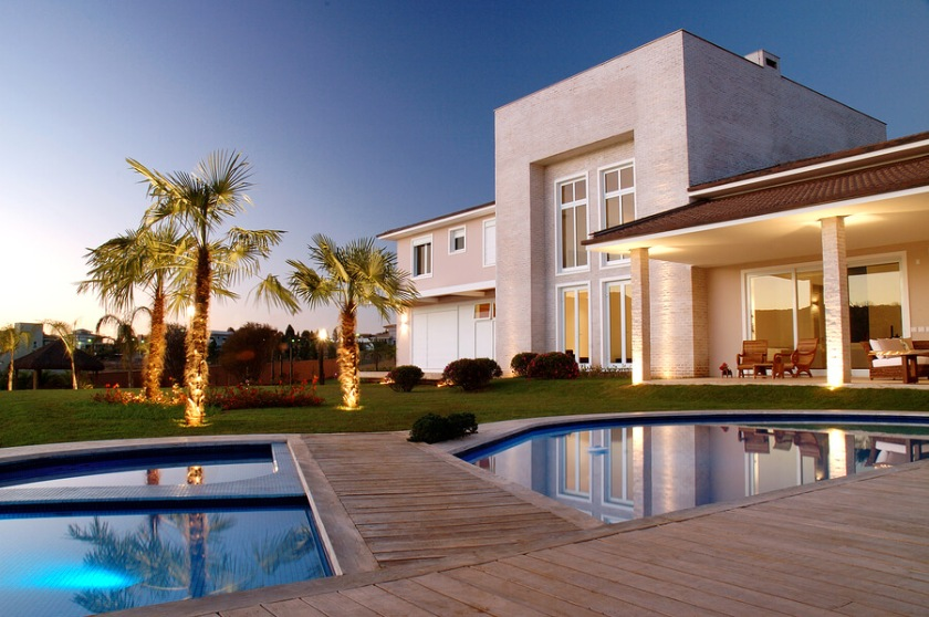 beautiful house in desert