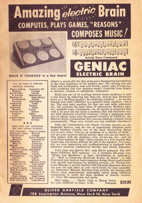Geniac - Galaxy 1956-12