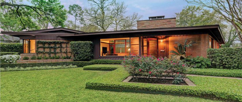 Mid-century modern ranch