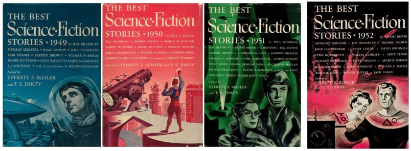 The Best Science Fiction 1949 1950 1951 1952