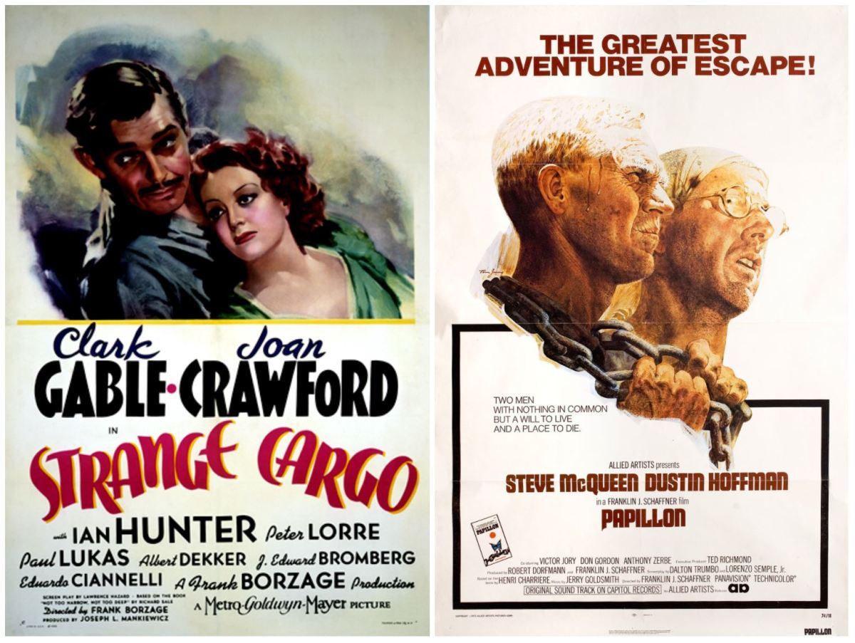 REWATCHING: Strange Cargo (1940) and Papillon (1973)